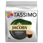 Tassimo Jacobs Espresso 118,4g, 16 Kapseln