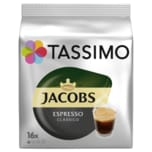 Tassimo Kaffeekapseln Jacobs Espresso classico 118,4g, 16 Kapseln