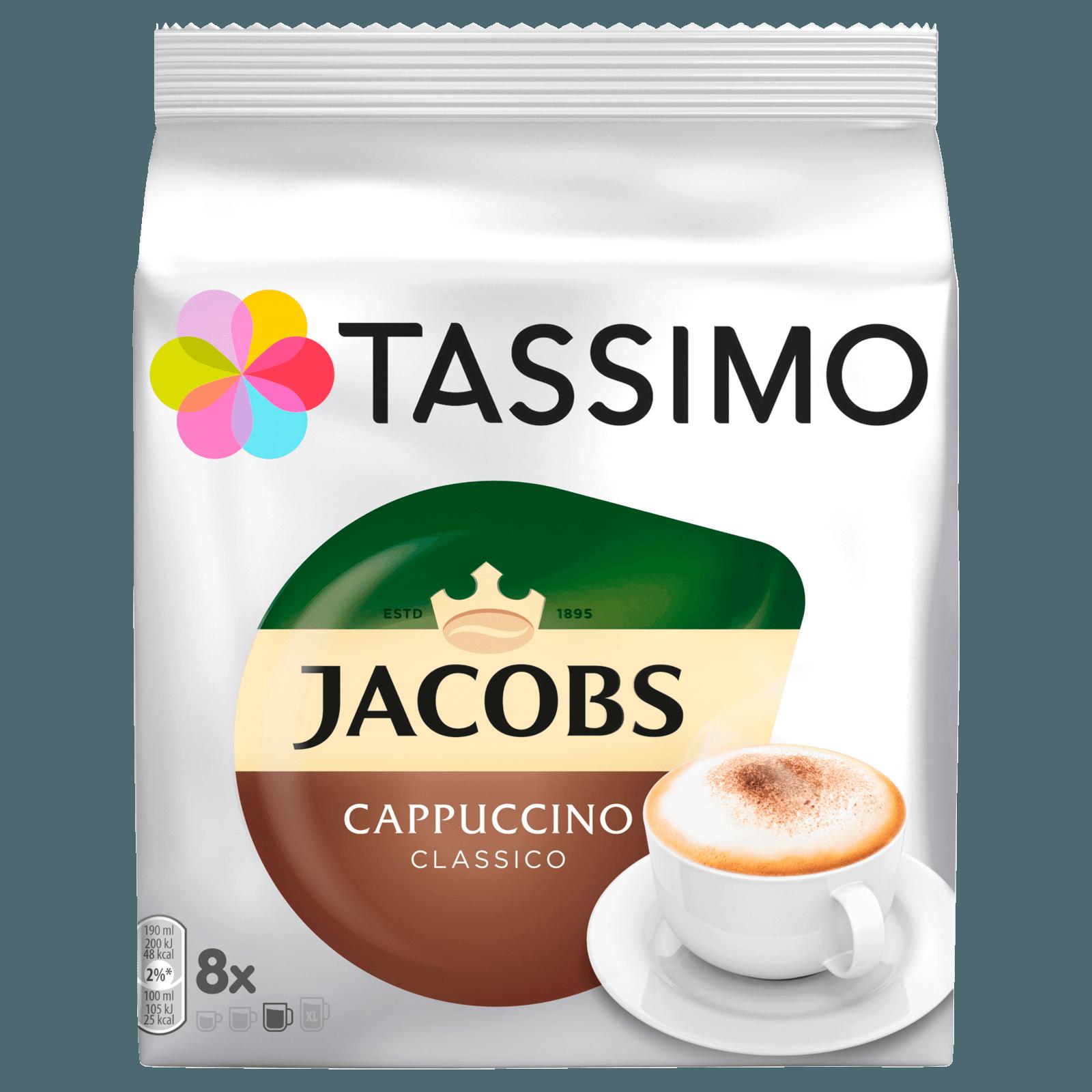 Tassimo Kapseln Jacobs Cappuccino Classico 8 Kaffeekapseln
