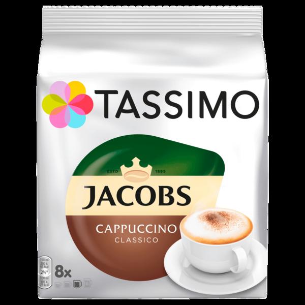 Tassimo Kaffeekapseln Jacobs Cappuccino classico 260g, 8 Kapseln