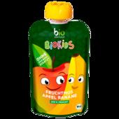 Bio Zentrale BioKids Fruchtmus Apfel-Banane 90g