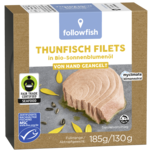 Followfish Thunfischfilets in Bio-Sonnenblumenöl 130g