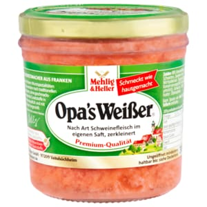 Mehlig & Heller Opa's Weißer 300g