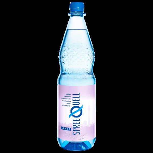 Spreequell Mineralwasser Sanft 1l