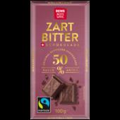 REWE Beste Wahl Zartbitter Schokolade 100g