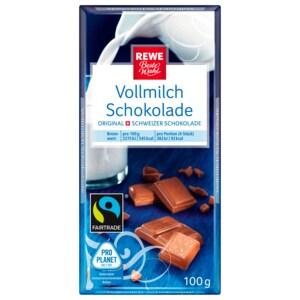 REWE Beste Wahl Vollmilch Schokolade 100g