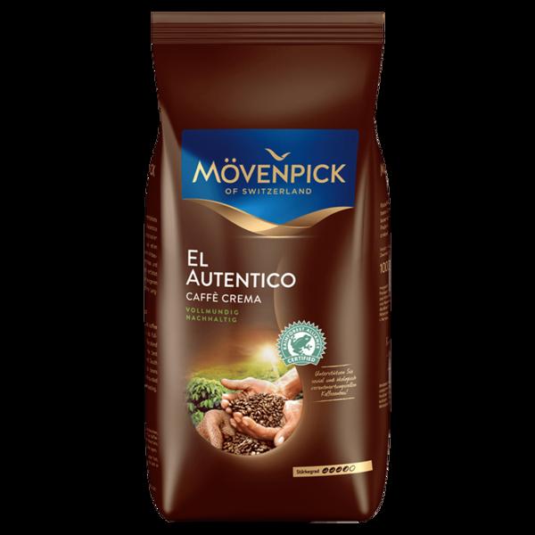 Mövenpick El Autentico Caffè Crema ganze Bohne 1kg