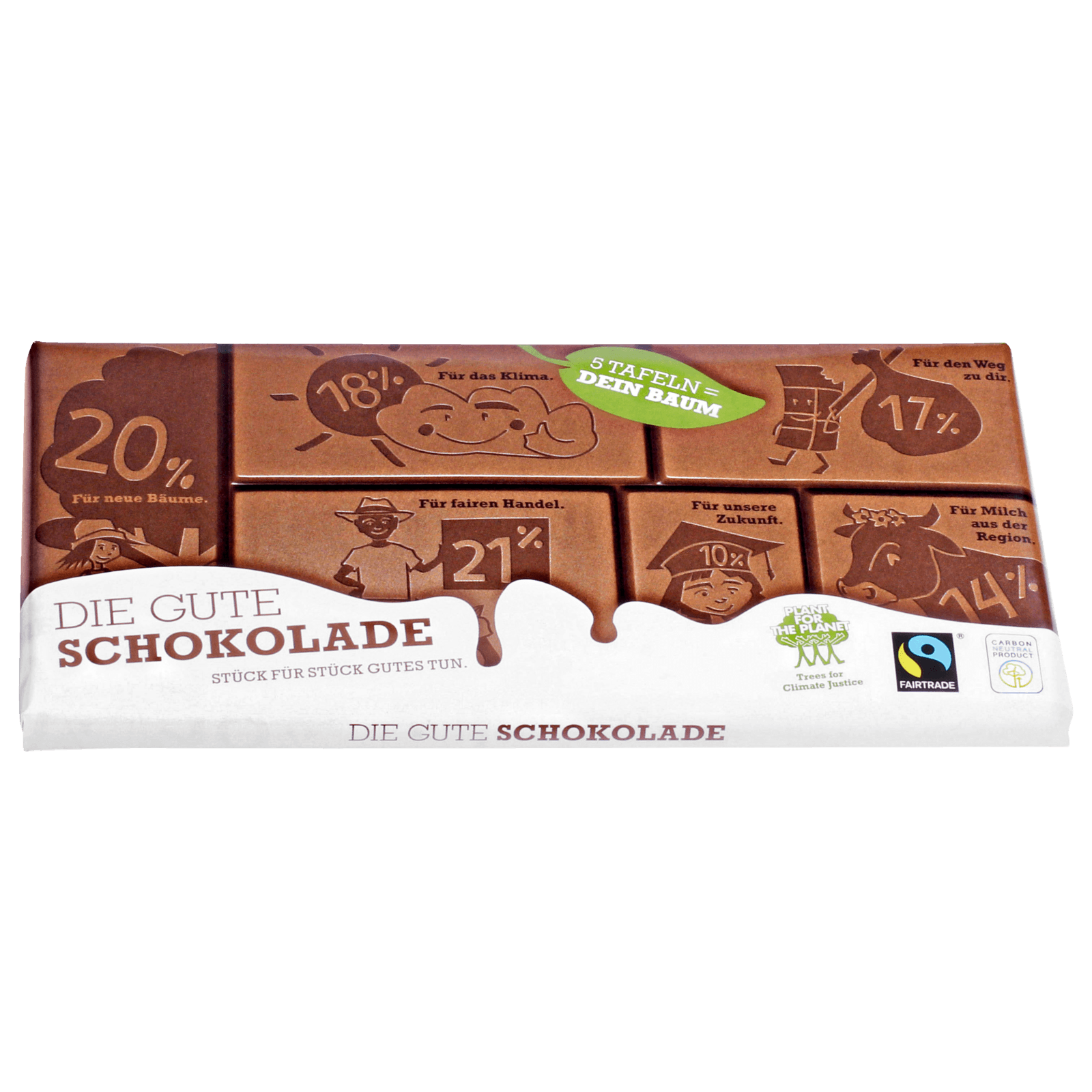 Plant for the Planet Die gute Schokolade 100g bei REWE