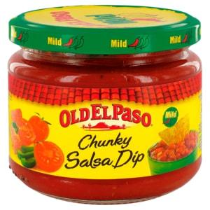 Old El Paso Chunky Salsa Dip mild 312g