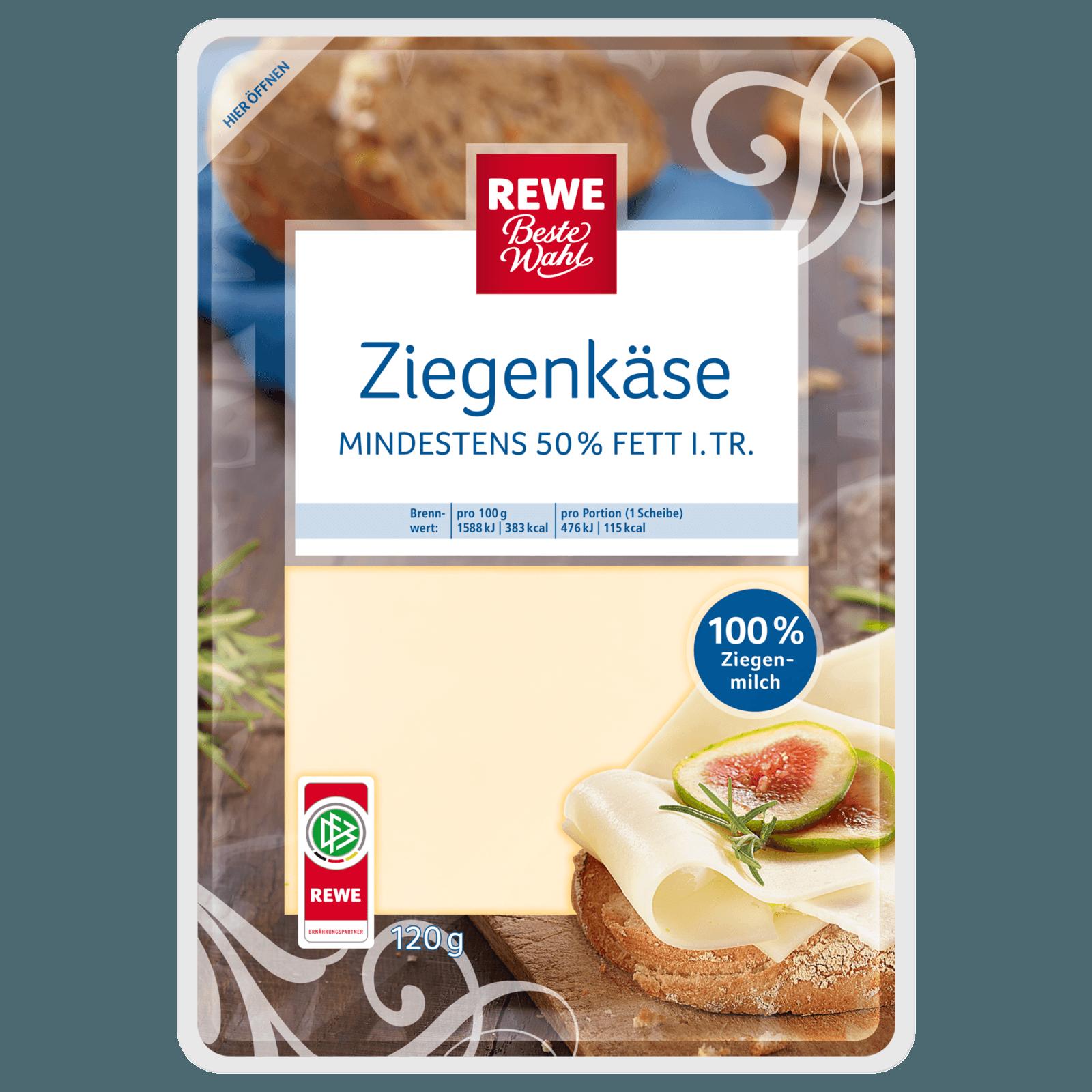 REWE Beste Wahl Holländischer Ziegenkäse 120g