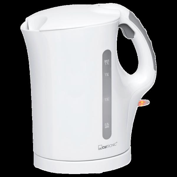 Clatronic Wasserkocher weiß 1,7l 2200W
