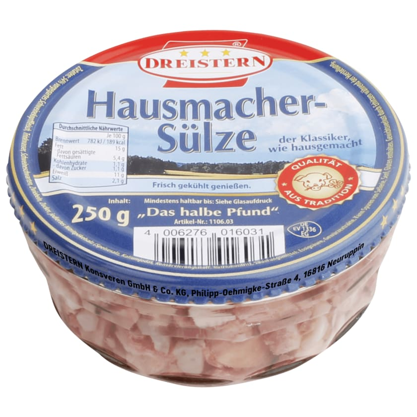 Dreistern Hausmacher-Sülze 250g