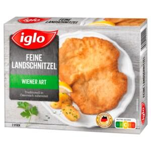 Iglo Heimatliebe Feine Landschnitzel nach Wiener Art 350g