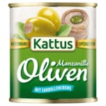 Kattus Große Oliven mit Sardellen-Creme 85g