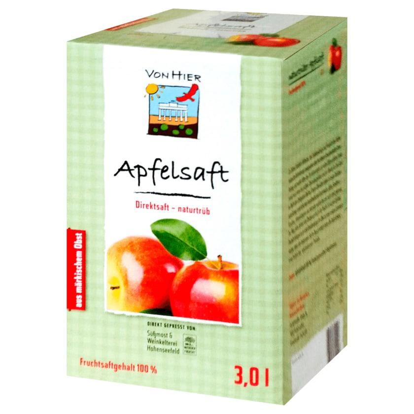 Von Hier Apfelsaft 3l