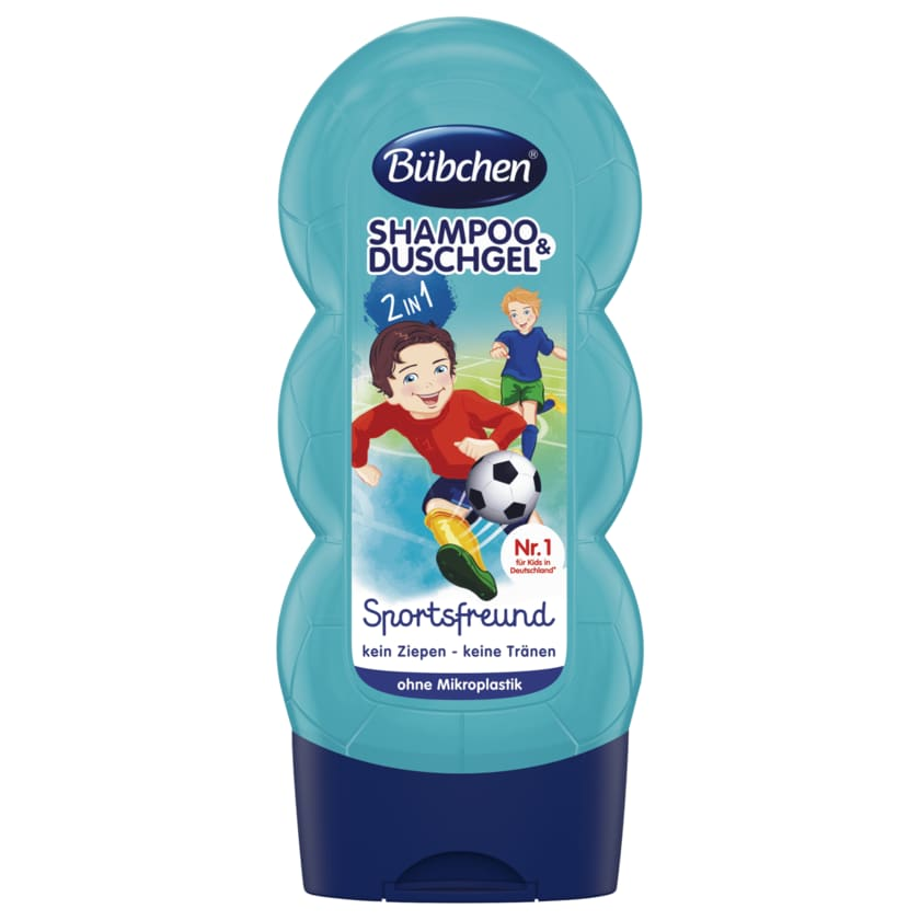 Bübchen Shampoo & Duschgel Sportsfreund 230ml