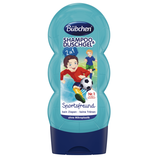 Bübchen Kids Shampoo & Shower Sportsfreund 230ml