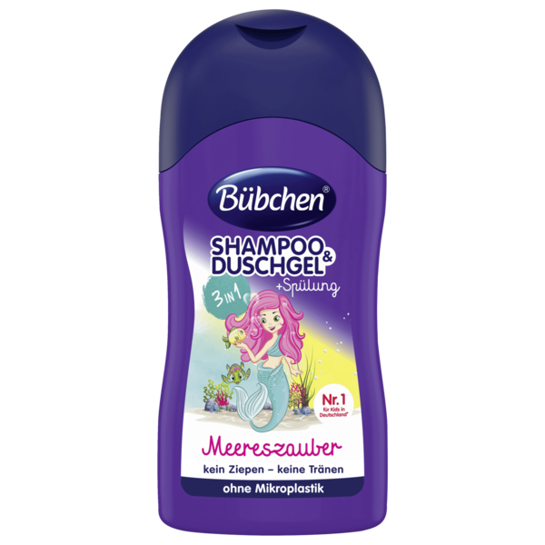 Bübchen Shampoo & Duschgel plus Spülung 3in1 Meereszauber 230ml