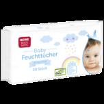 REWE Beste Wahl Baby Feuchttücher Sensitiv 30 Stück