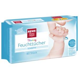 REWE Beste Wahl Baby Feuchttücher Sensitiv 80 Stück