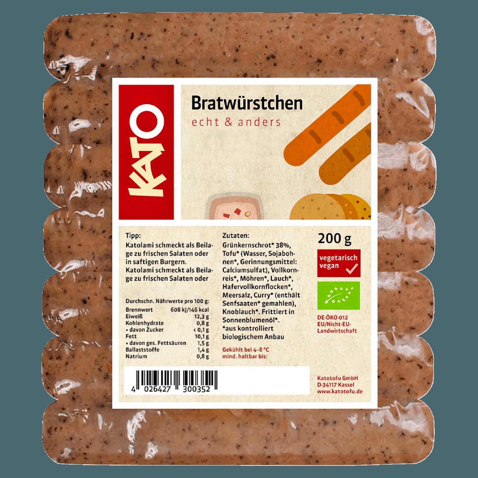 Kato Bratwürstchen 200g