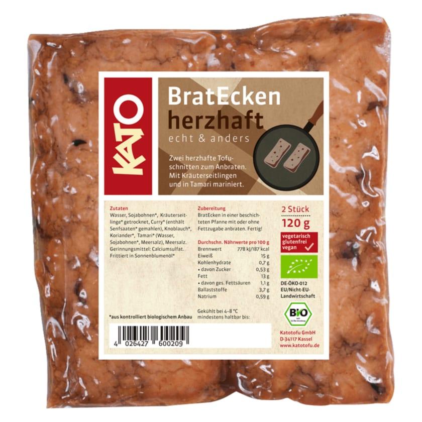Kato Bio BratEcken herzhaft vegan 120g