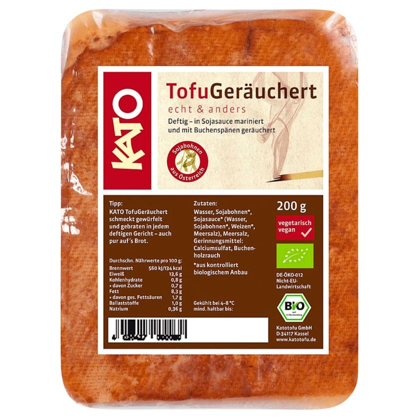 Kato Bio Tofu Geräuchert vegan 200g