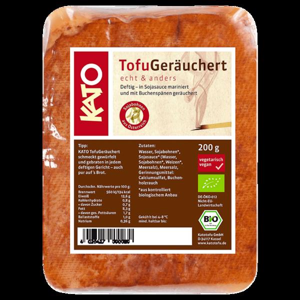 Kato Bio Tofu Geräuchert 200g