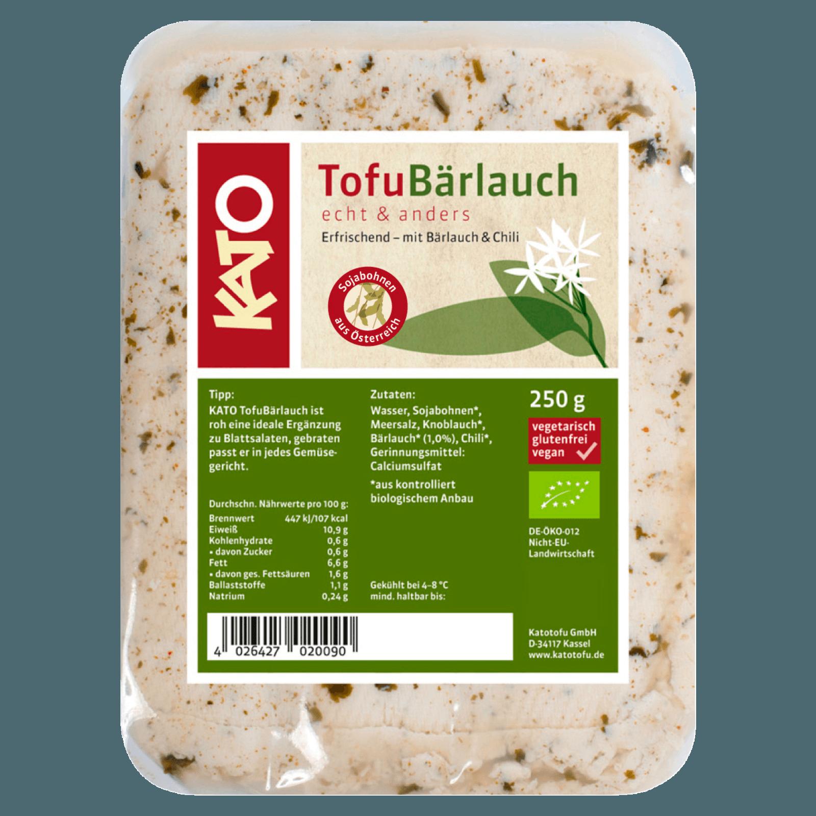 Kato Tofu Bärlauch 250g