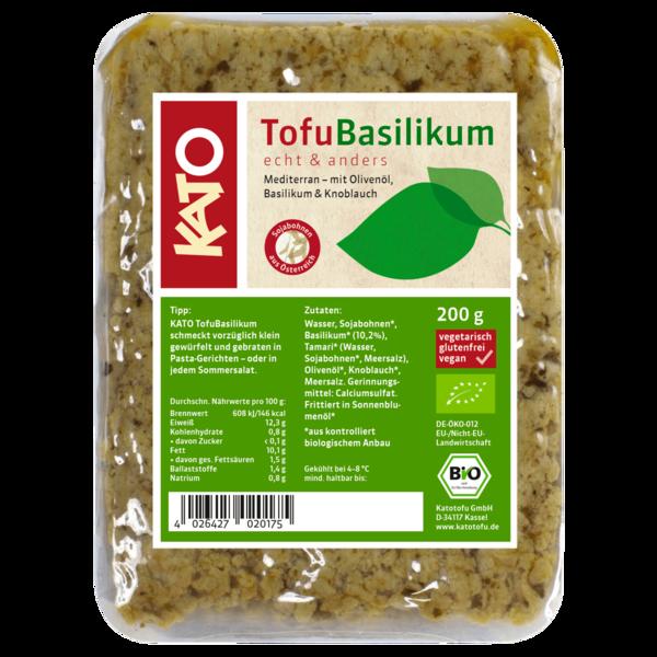 Kato Tofu Basilikum 200g