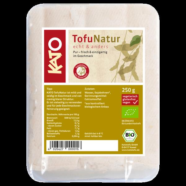 Kato Bio Tofu Natur vegan 250g