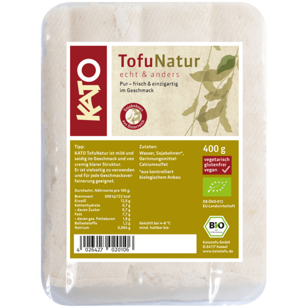 Kato Bio Tofu Natur vegan 400g