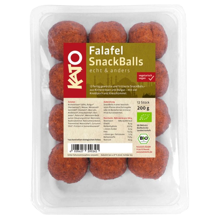 Kato Bio Falafel SnackBalls 200g