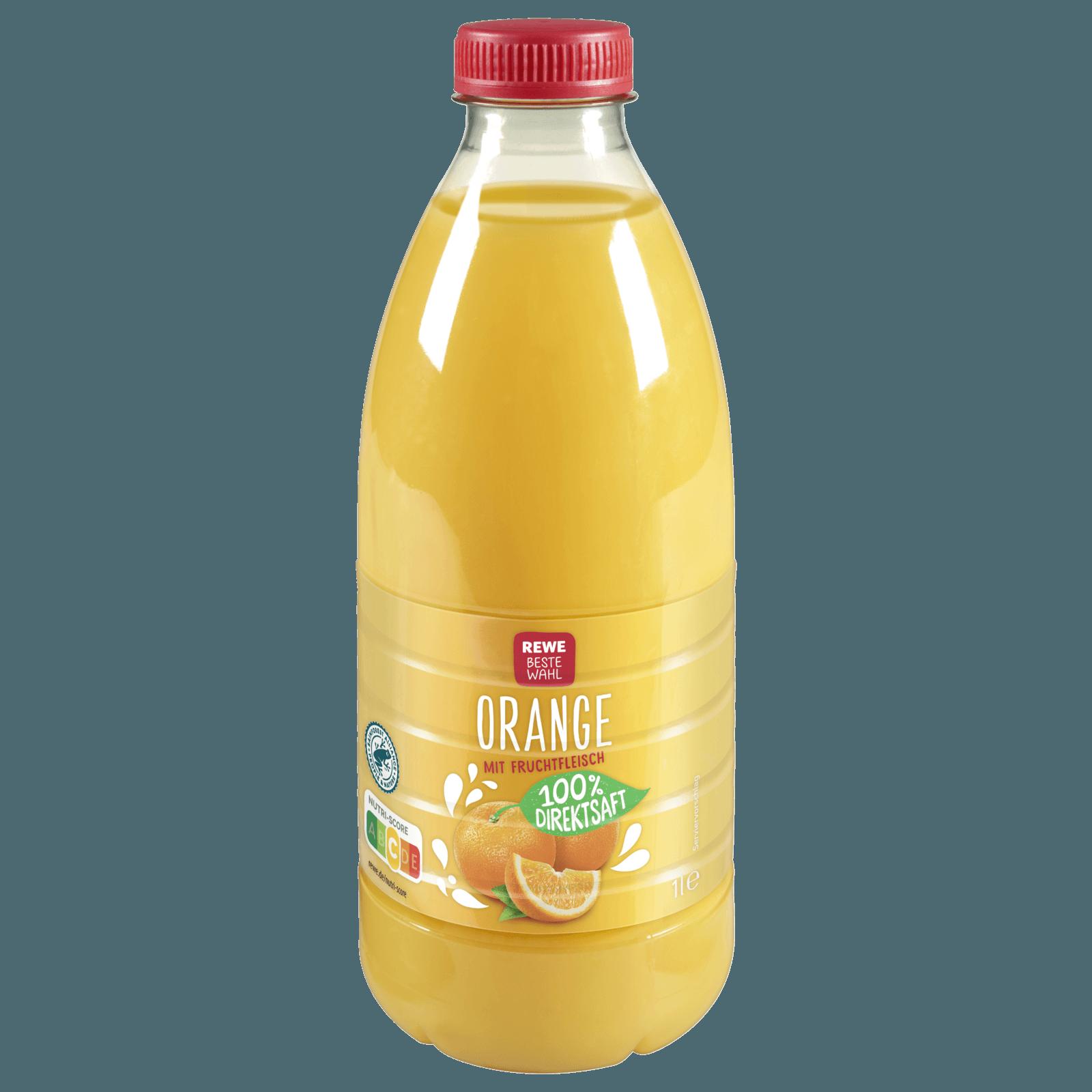 REWE Beste Wahl Kühlfrische Orange 1l