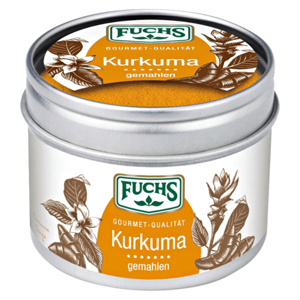Fuchs Curcuma gemahlen 55g