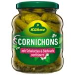 Kühne Würzige Cornichons Bärlauch & Schalotte 190g
