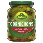 Kühne Scharfe Cornichons Chili & Pfeffer 190g