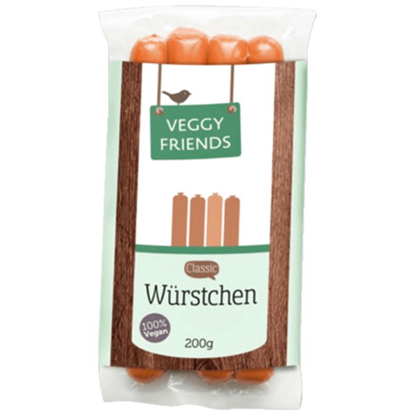Veggy Friends Veggy-Würstchen Classic 200g