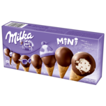 Milka Mini Cones 8x25ml
