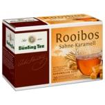 Bünting Tee Rooibos Sahne-Karamell 35g, 20 Beutel