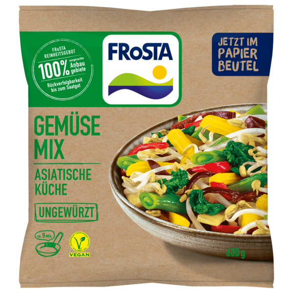 Frosta Gemüse Mix Asia Küche 600g