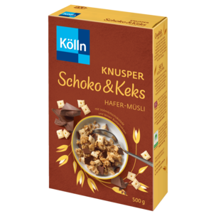 Kölln Müsli Knusper Schoko & Keks 500g