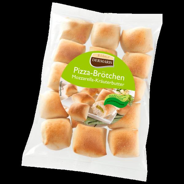 Dermaris Pizza-Brötchen Mozzarella-Kräuter 250g