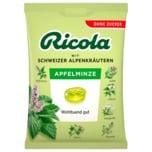Ricola Apfelminze zuckerfrei 75g