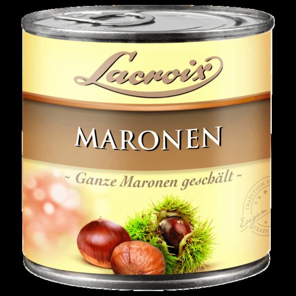 Lacroix ganze Maronen 400g