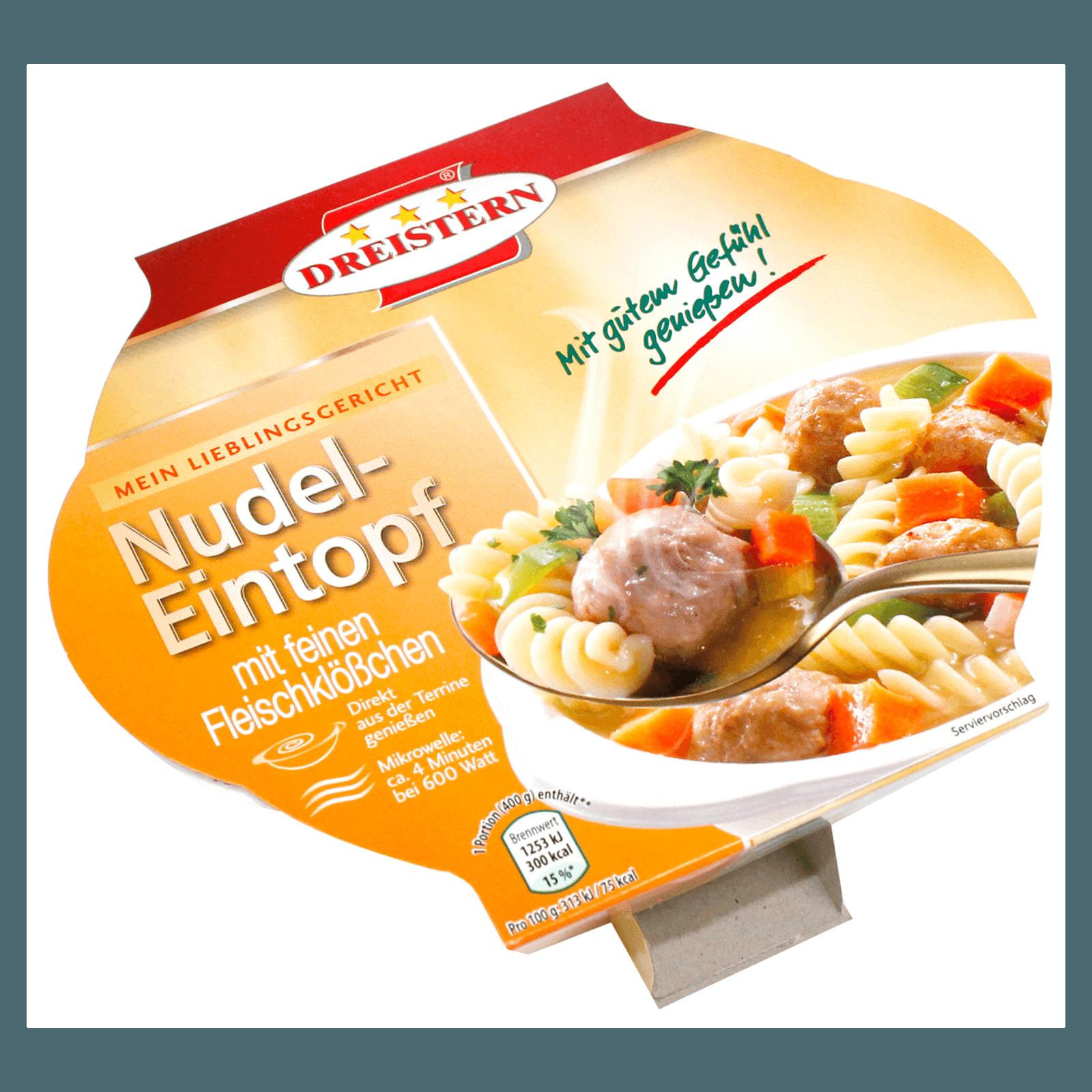 Dreistern Nudel-Eintopf mit feinen Fleischklößchen 400g