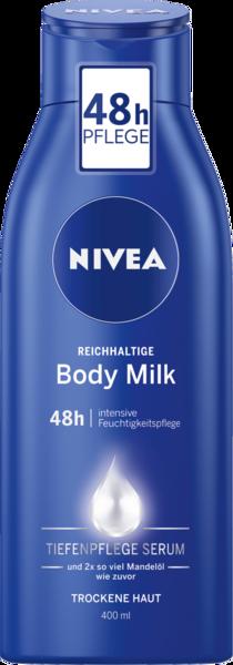 Nivea Reichhaltige Body Milk Body Lotion 400ml