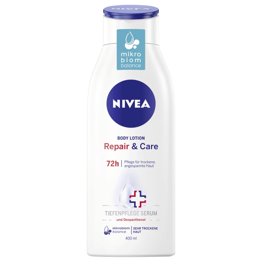 Nivea Repair & Care Body Lotion für sehr trockene Haut 400ml