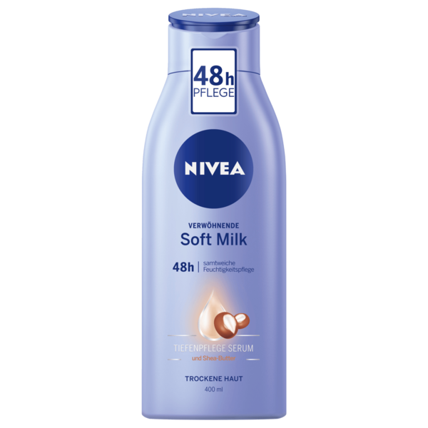 Nivea Soft Milk Body Lotion 400ml