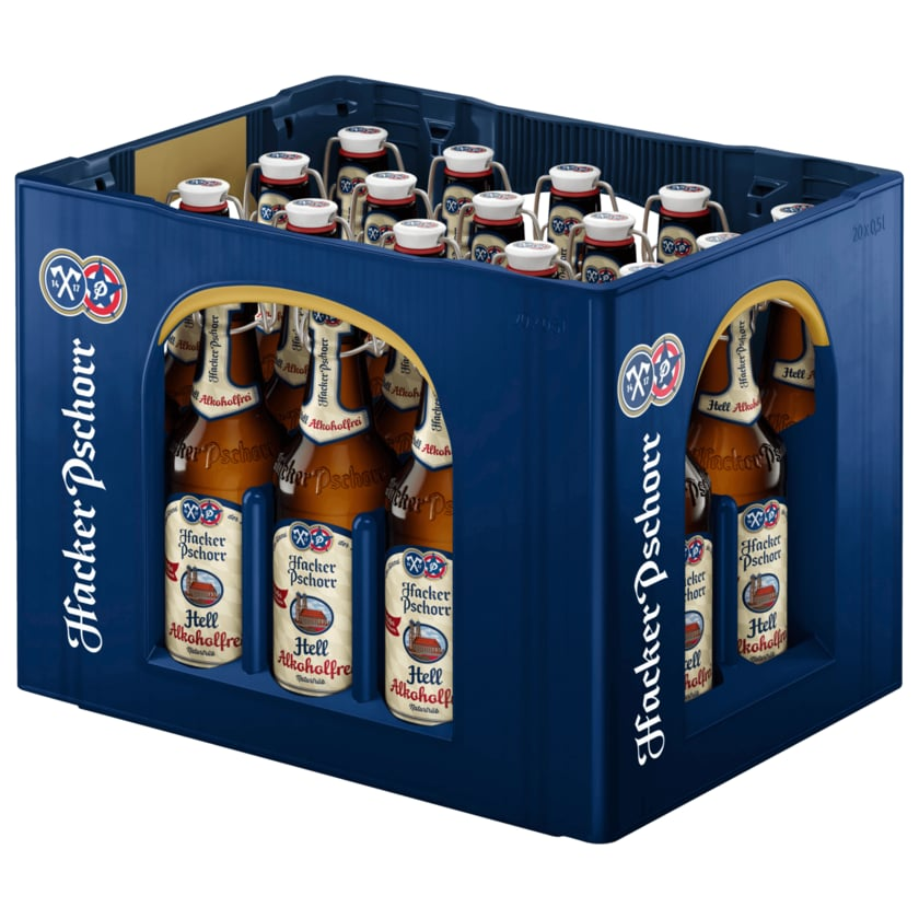 Hacker-Pschorr Münchner Hell alkoholfrei 20x0,5l
